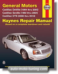 Revue technique Cadillac DTS