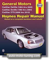Revue Cadillac Seville depuis 1992
