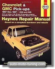 Revue technique Chevrolet Blazer (1967-1991)