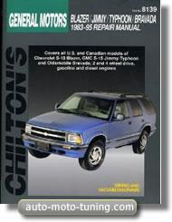 Revue technique Chevrolet S-10 Blazer (1983-1995)