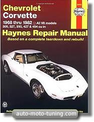 Revue technique Chevrolet Corvette (1968-1982)