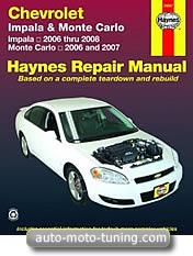 Revue technique Chevrolet Monte Carlo (2006-2007)