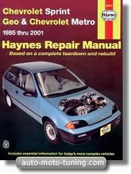Revue technique Chevrolet Sprint