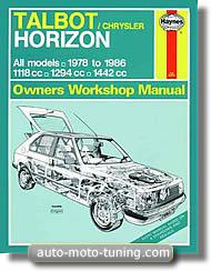 Revue Haynes : Talbot Chrysler Horizon (1978-1986)