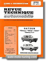 Revue technique Datsun 100 et 120 (1972-1979)