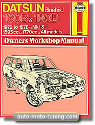 Revue Datsun Bluebird 160B et 180B (1972-1978)