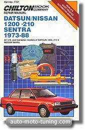 Revue technique Datsun 210 (1973-1988)