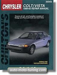 Revue technique Dodge Colt (1990-1993)
