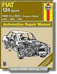 Revue technique fiat - Fiat 124 coupe sport fiche technique ...