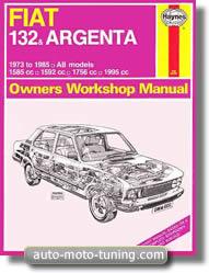 Revue technique Fiat 132