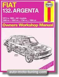 Revue technique Fiat Argenta (1973-1985)