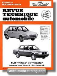 Fiat Regata et Ritmo diesel