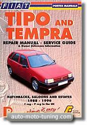 Manuel de réparation Fiat Tempra / Tipo (1988-1996)