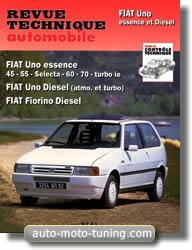 Revue technique Fiat Uno essence et diesel (1988-1995)
