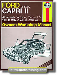 Revue technique Ford Capri depuis 1974