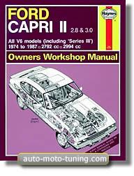 Revue technique Ford Capri V6 (1974-1987)