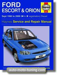 Revue technique Ford Escort