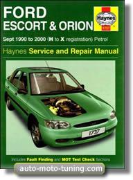 Revue technique Ford Escort essence