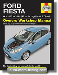 Revue technique Ford Fiesta essence et diesel