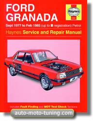 Revue technique Ford Granada essence de 1977 à 1985