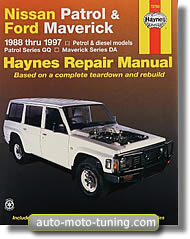 Revue technique Ford Maverick essence et diesel (1988-1997)