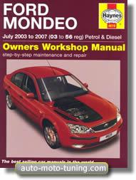 Revue technique Ford Mondeo essence et diesel (2003-2007)