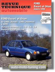 Revue technique Ford Orion (depuis 1984 et depuis 1986)