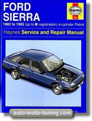 Revue technique Ford Sierra de 1982 à 1993