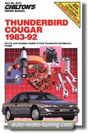 Manuel d'atelier Ford Thunderbird