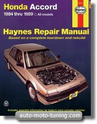 Revue technique Honda Accord 1.8 (1984-1989)