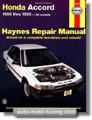 Revue technique Honda Accord (1990-1993)