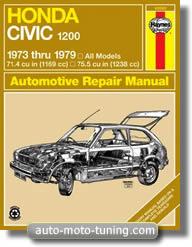 Revue technique Honda Civic 1200 (1973-1979)