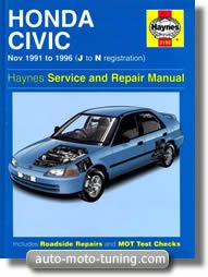 Revue technique Honda Civic (1991-1996)