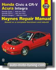 RTA Honda Civic et CR-V (1996-2000)