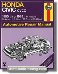 Revue technique Honda Civic CVCC (1980-1983)