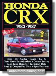 Documentation technique automobile Honda CRX (1983-1987)