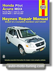 Revue technique Honda Pilot (2003-2007)