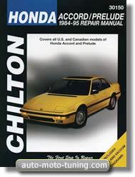 Revue technique Honda Prelude (1984-1995)