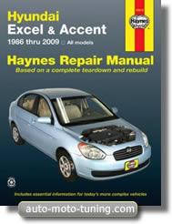 Revue technique Hyundai Accent et Excel