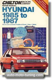 Revue technique Hyundai Excel (1985-1987)