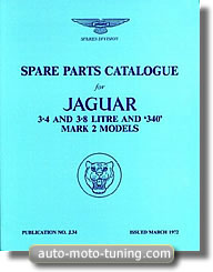 Jaguar 340, 3·4, 3·8, Mark 2