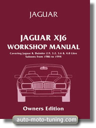 Manuel technique Jaguar XJ6 (1986-1994)