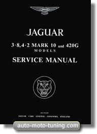 Manuel d'atelier Jaguar Mk 10