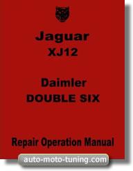 Manuel de réparation Jaguar XJ12 (1974-1978)