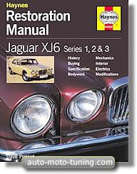 Manuel d'atelier Jaguar XJ6 série 1, 2 et 3