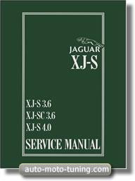 Manuel d'atelier Jaguar XJS