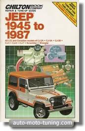 Revue technique Jeep CJ depuis 1945