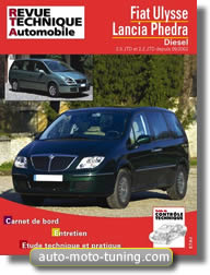 Revue technique Lancia Phedra (depuis 2002)