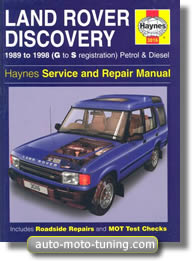Revue technique Land Rover Discovery (1989-1998)