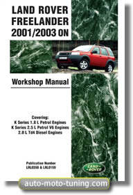 Revue technique Land Rover Freelander (2001-2003)